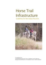Horse Trail Infrastructure