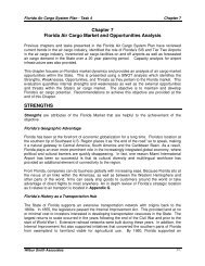 Chapter 7 Florida Air Cargo Market and Opportunities Analysis STRENGTHS