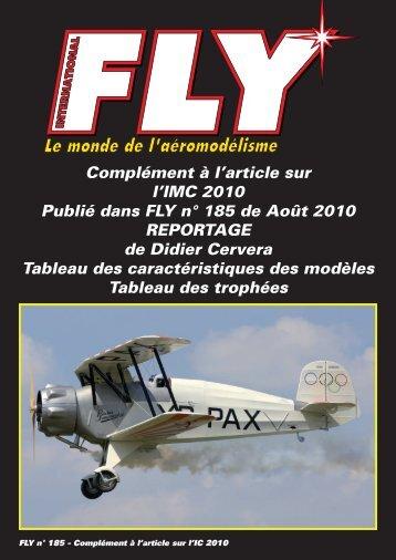 Pdf Tableaux IMC 2010 - Fly International.fr, le monde de l ...