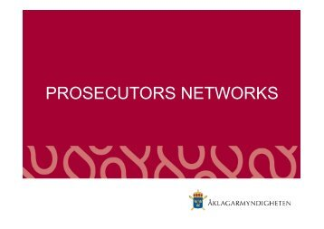 PROSECUTORS NETWORKS