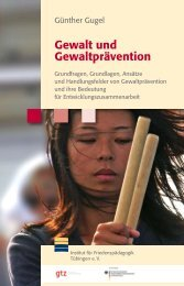 Gewalt und Gewaltprävention - Gtz