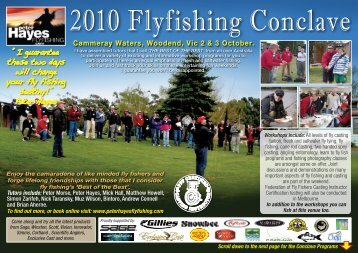 2010 Flyfishing Conclave - Peter Hayes Fly Fishing