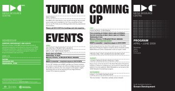 TUITION COMING UP EVENTS