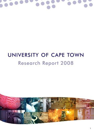 University of Cape Town Research Report 2008