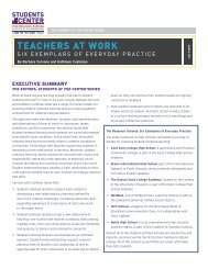 TEACHERS AT WORK