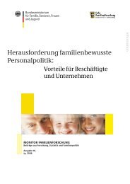 Herausforderung familienbewusste Personalpolitik
