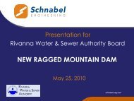 NEW RAGGED MOUNTAIN DAM