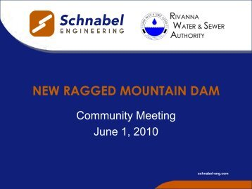 NEW RAGGED MOUNTAIN DAM