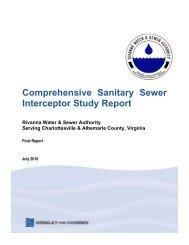 Comprehensive Sanitary Sewer Interceptor Study Report