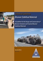 Technical Guideline Bitumen Stabilised Materials