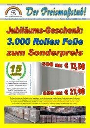 8 cm breite Auflage und Abstandshalter - Hans-Joachim Schneider ...