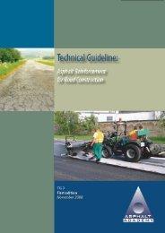 Asphalt Reinforcement Guideline Draft – August 2008