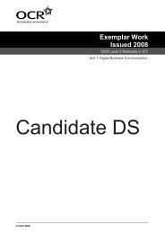 Candidate DS