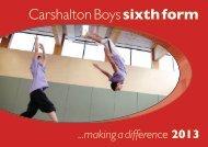 Carshalton Boys sixth form