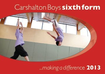 Carshalton Boys sixth form