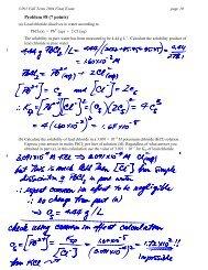Problem #8 (7 points)