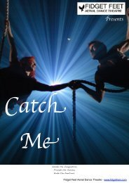 Catch Me Brochure - Fidget Feet Performance Company