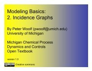 Modeling Basics 2 Incidence Graphs