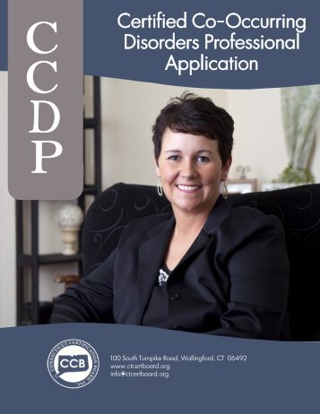 Certified Co-Occurring Disorders Professional Application