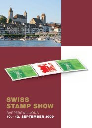Jubiläumskatalog zur Swiss Stamp Show 2009