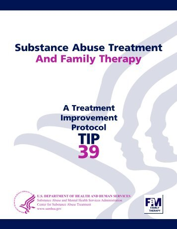 Substance Abuse Treatment And Family Therapy - ERIC
