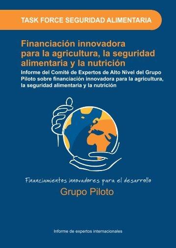 Financiación innovadora para la agricultura, la seguridad ...