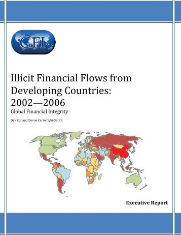 Illicit Financial Flows from Developing Countries 2002—2006.