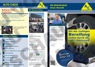 Elektronik Motordiagnose HU (m. integr. AU)