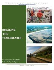 BREAKING THE TRAILBREAKER