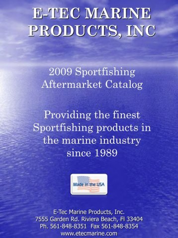 to view the E-Tec Aftermarket - E-TEC Marine Products Inc