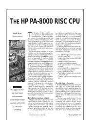 THE HP PA-8000 RISC CPU