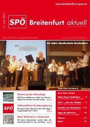 2011 ist das Jahr des Waldes - SPÖ Breitenfurt