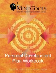 Personal Development Plan Workbook - TeacherSity