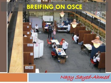 BREIFING ON OSCE
