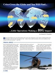 Criss-Cross the Globe and You Will Find - Rotor®Magazine
