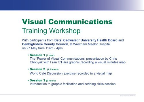 Visual Communications Training Session - Fran O'hara