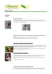 Ausgabe Juni 2012 - Geniushof eV - Lebensfreude durch Integration