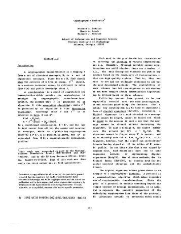 © 1982 ACM 0-89791-067-2/82/005/0383 $00.75