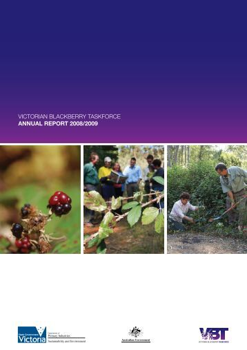 VICTORIAN BLACKBERRY TASKFORCE ANNUAL REPORT 2008/2009