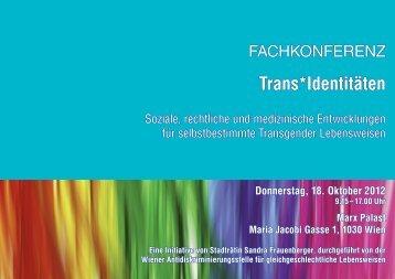 Trans*Identitäten