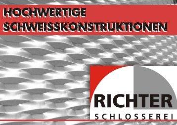 Schlosserei Richter Schnaitbergstraße 1 73457 Essingen