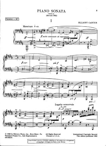 PIANO SONATA - Free Piano Sheet Music by WrittenMelodies.com