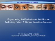 Duong, Kim Anh. Engendering the Evaluation of Anti-Human - DevNet