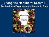 Living the Neoliberal Dream?