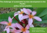 Scheyvens DevNet conference Ak 2012 Sust tourism policy v ...