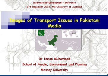 Images of Transport Issues in Pakistani Media