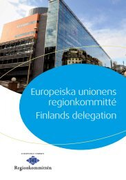 Europeiska unionens regionkommitté Finlands delegation