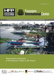 Humanitarian Horizons A Practitioners' Guide to the Future