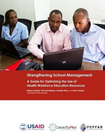 Strengthening School Management