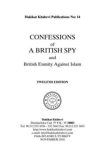 CONFESSIONS A BRITISH SPY